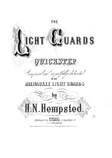 Light Guard's Quickstep: Для фортепиано by Henry N. Hempsted