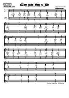 Ближе, Господь, к Тебе: Вокальная партитура, Op.228 No.1 by Lowell Mason