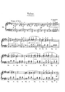 Вальс ми мажор, B.44 KK IVa/12: Для фортепиано by Фредерик Шопен