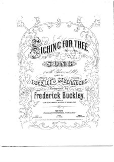Sighing for Thee: Sighing for Thee by Frederick Buckley