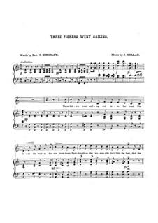 Three Fishers Went Sailing: Клавир с вокальной партией by John Hullah