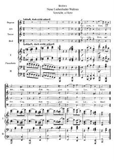 Новые песни любви, Op.65: Новые песни любви by Иоганнес Брамс