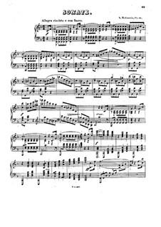 Соната для фортепиано No.3 фа мажор, Op.41: Часть I by Антон Рубинштейн
