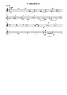 No.8 Катакомбы: Римская гробница. Для струнного квинтета – партии by Модест Мусоргский