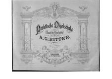Искусство игры на органе, Op.15: No.1-23 by Август Готтфрид Риттер