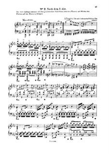Тамос, король Египта, K.345: No.2-7. Версия для фортепиано by Вольфганг Амадей Моцарт
