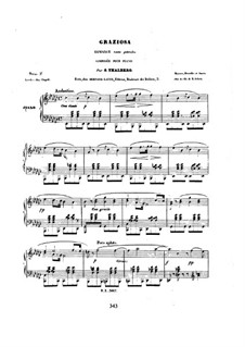 Six Pieces, Op.36: No.6 Graziosa by Сигизмунд Тальберг