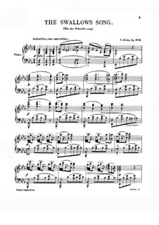 The Swallows Song, Op.270: The Swallows Song by Карл Бём