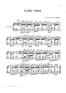 Plume Polka: Plume Polka by Фрэнсис Генри Браун