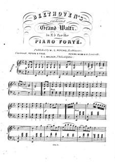 Большой вальс для фортепиано: Большой вальс для фортепиано by Unknown (works before 1850)