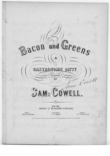 Bacon and Greens: Bacon and Greens by Samuel Houghton Cowell