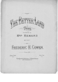 The Better Land: D Major by Frederic Hymen Cowen