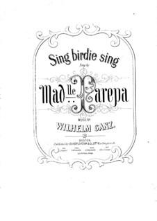 Sing Birdie Sing: Sing Birdie Sing by Вильгельм Ганц