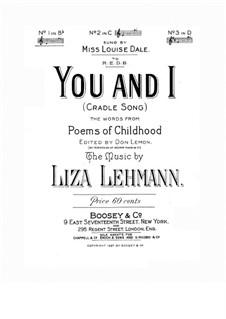 You and I: You and I by Liza Lehmann