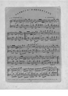 Olympic Schottisch, Op.23: Olympic Schottisch by Charles Lenschow