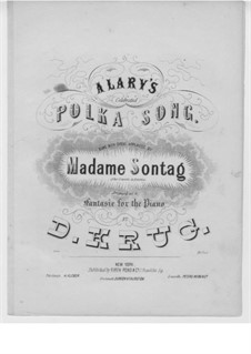 La polka favorite d'Alary: La polka favorite d'Alary by Дитрих Круг