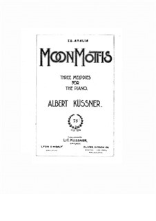 Moon Motifs, Op.2: Moon Motifs by Albert Küssner