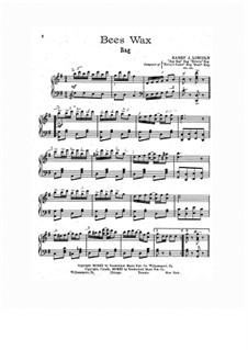 Bees Wax: Для фортепиано by Гарри Дж. Линкольн