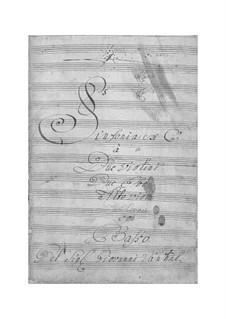 Симфония до мажор: Симфония до мажор by Иоганн Вангал