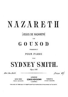Nazareth: Клавир by Шарль Гуно