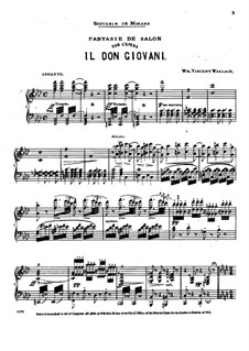 Фантазия на тему из оперы 'Дон Жуан' Моцарта: Фантазия на тему из оперы 'Дон Жуан' Моцарта by Уильям Винсент Уоллес