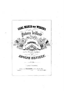 Блестящий полонез, J.268 Op.72: Для фортепиано by Карл Мария фон Вебер