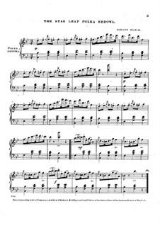The Stag Leap Polka Redowa: The Stag Leap Polka Redowa by Johann Munck