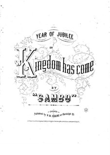 Year of Jubilee or Kingdom Has Come: Year of Jubilee or Kingdom Has Come by Sambo