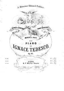 Auprès du berceau, Op.95 No.1: Auprès du berceau by Ignaz Amadeus Tedesco