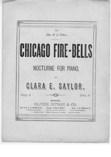 Chicago Fire Bells: Chicago Fire Bells by Clara E. Saylor