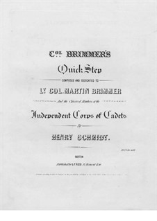 Brimmer's Quickstep: Brimmer's Quickstep by Henry Schmidt