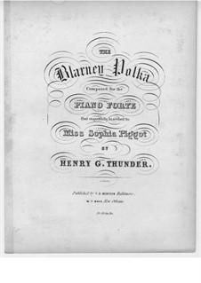Blarney Polka for Piano: Blarney Polka for Piano by Henry G. Thunder