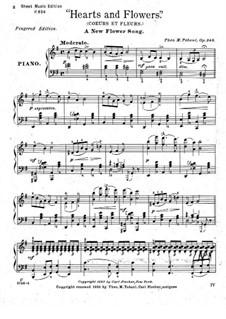 Hearts and Flowers, Op.245: Соль мажор by Теодор Мозес Тобани