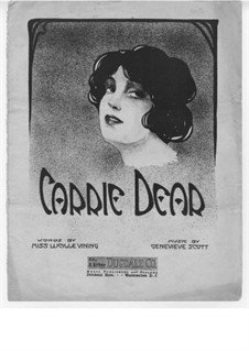Carrie Dear: Carrie Dear by Genevieve Scott