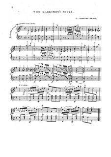 The Marksmen's Polka: The Marksmen's Polka by Charles Rehm