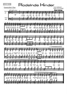 Rodelnde Kinder, Op.102 Nr.4: Rodelnde Kinder by Bernd Gehring