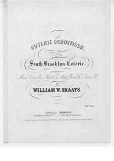 Coterie Schottisch: Coterie Schottisch by William W. Skaats