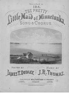 The Pretty Little Maid of Minnetonka: The Pretty Little Maid of Minnetonka by John Rogers Thomas