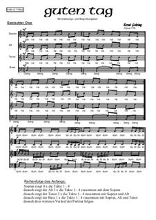 Guten Tag, Op.178: Guten Tag by Bernd Gehring