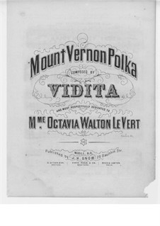 Mount Vernon Polka: Mount Vernon Polka by Vidita