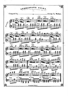 Germantown Polka: Germantown Polka by George L. Walker