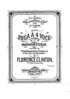 Фуга: Фуга by Florence Clinton