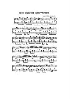 Good Evening Schottische: Good Evening Schottische by Albert H. Bassler