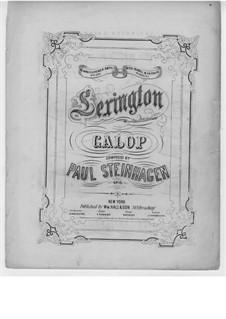 Lexington Galop: Lexington Galop by Paul Steinhagen