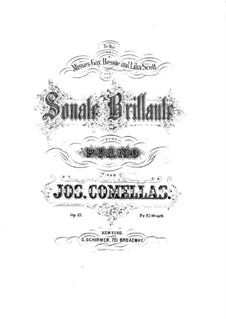 Блестящая соната соль минор, Op.21: Блестящая соната соль минор by Joseph Comellas