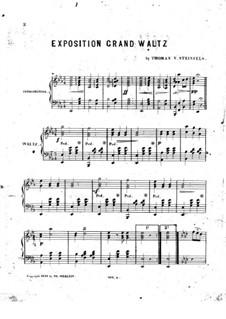 Exposition Grand Waltz: Exposition Grand Waltz by Thomas V. Steinfels