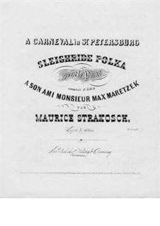 Sleighride Polka: Sleighride Polka by Морис Стракош