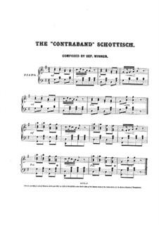 The Contraband for Piano: The Contraband for Piano by Septimus Winner
