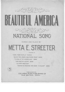 Beautiful America: Beautiful America by Metta E. Streeter