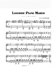 Lakeside Piano March: Lakeside Piano March by F. R. Sweetland